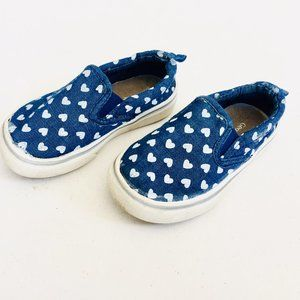 Other - Jean Heart Slip-On Shoes